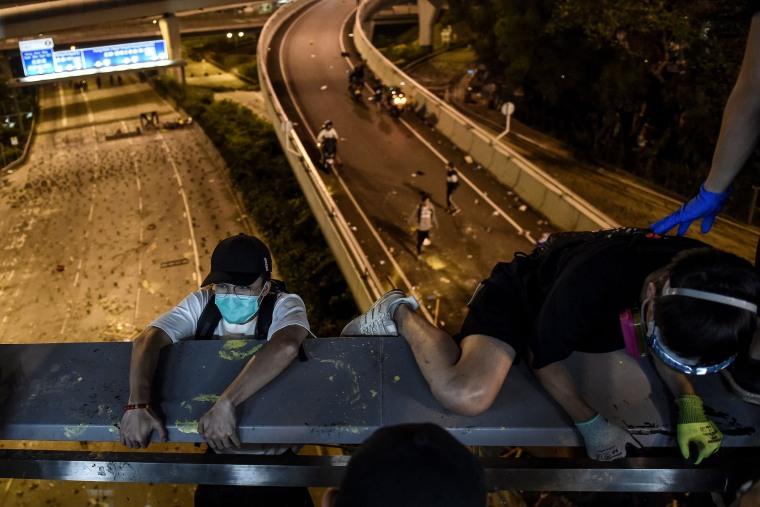 Image: TOPSHOT-HONG KONG-CHINA-POLITICS-UNREST