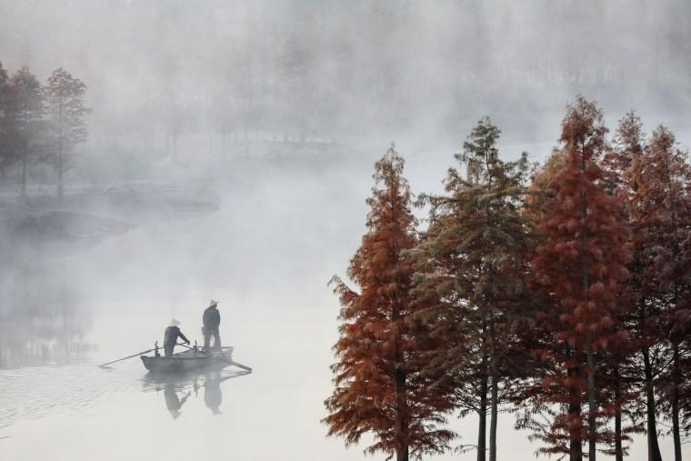 Image: TOPSHOT-CHINA-LIFESTYLE-TOURISM
