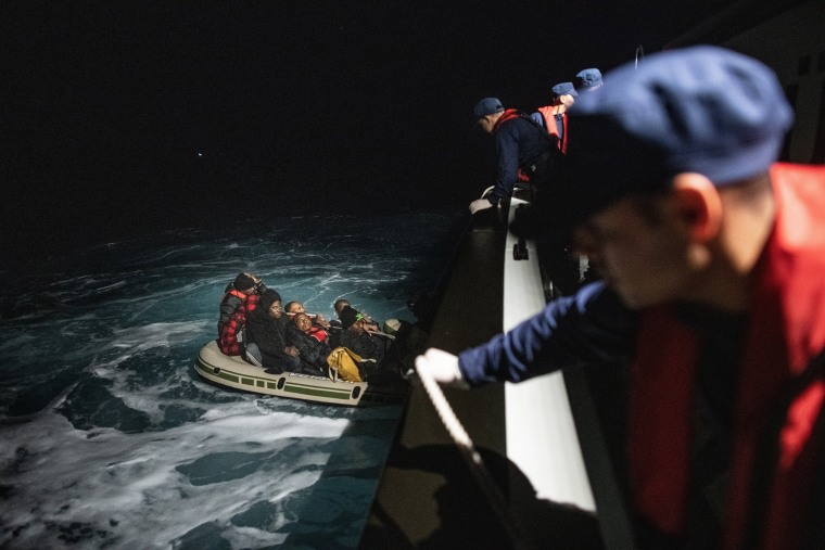 Image: Turkish Coast Guard Intercepts Migrants Bound For Greece