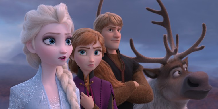 """Frozen 2"" features the voices of Idina Menzel, Kristen Bell, Jonathan Groff and Josh Gad."
