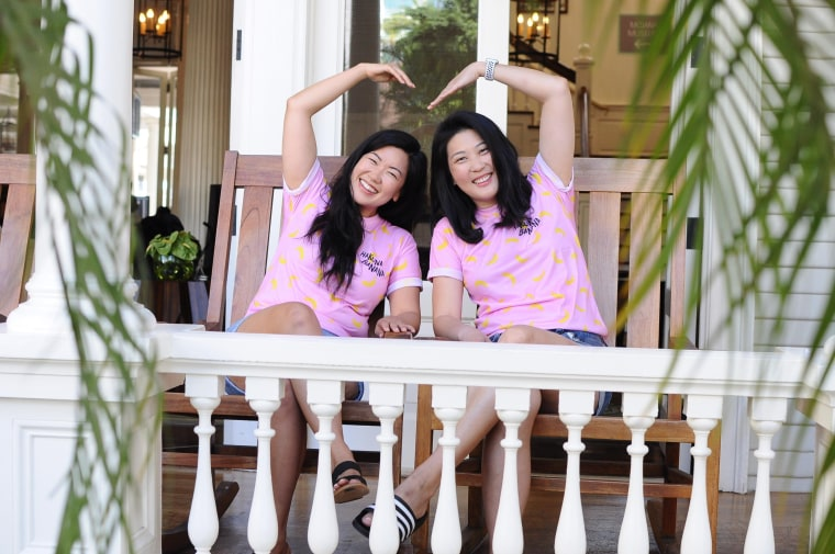 Hannah Hong and Mollie Cha of Hakuna Brands.