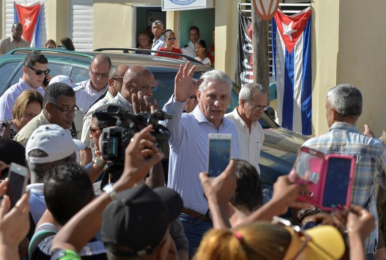 Image: CUBA-US-POLITICS-DIAZ CANEL
