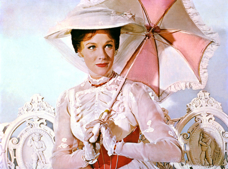 Image: MARY POPPINS 1964 Disney film starring Julie Andrews