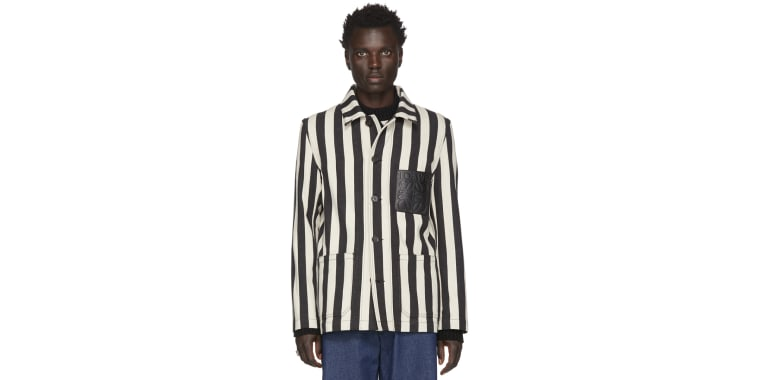 Loewe has apologized for selling an outfit that resembled a concentration camp uniform.