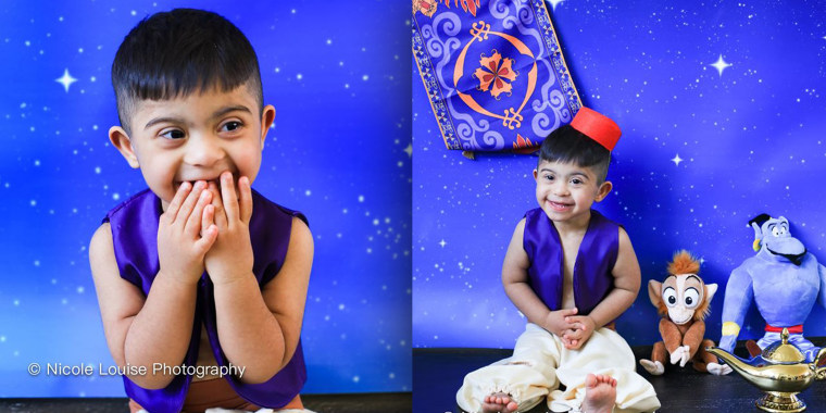 Two-year-old Abdullah Adnan is Aladdin in these cute pictures!