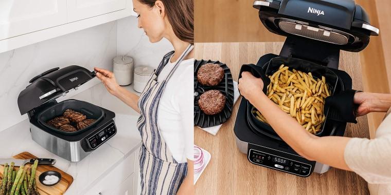 This Ninja Foodi is five cooking gadgets in one!