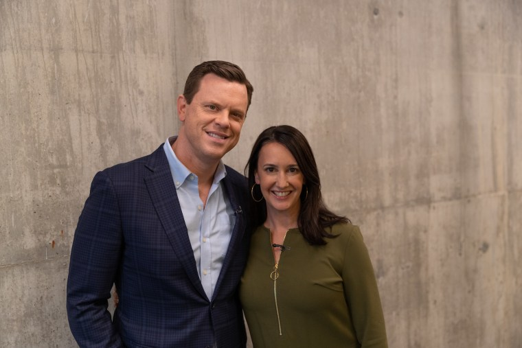 Willie and Christina Geist at a Know Your Value event in Philadelphia on Nov. 19.