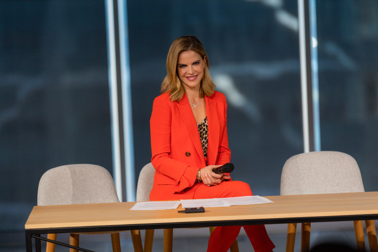 "Natalie Morales, West Coast anchor of ""TODAY,"" at a Know Your Value event in Philadelphia on Nov. 19."