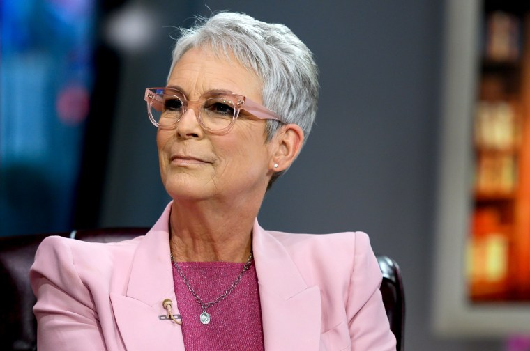 Image: Jame Lee Curtis on TODAY on Nov. 21, 2019.