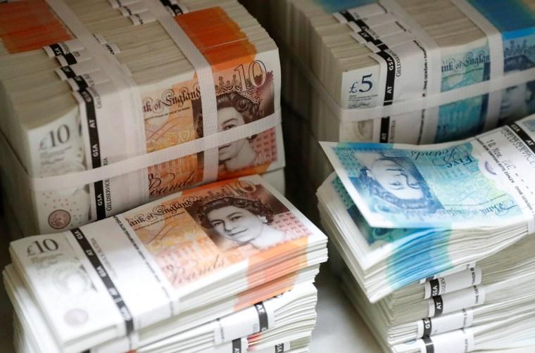 Image: British banknotes