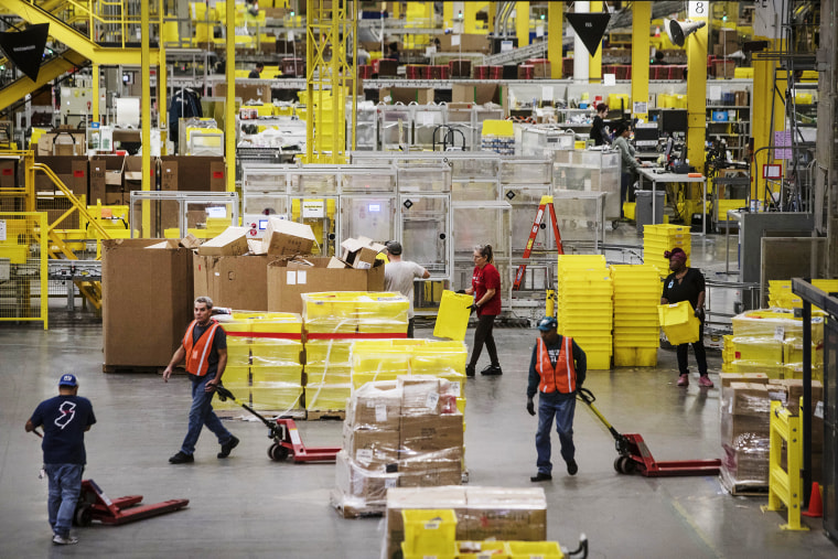 Inside An Amazon.com Inc. Fulfillment Center On Cyber Monday