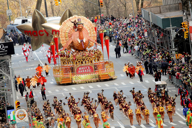 Image: 93rd Macy's Thanksgiving Day Parade in New York City