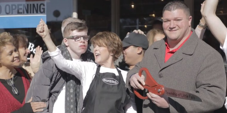 Coffee shop aims to change how people with special needs are employed