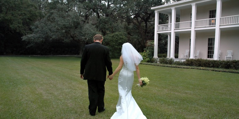 Plantation Wedding Walk