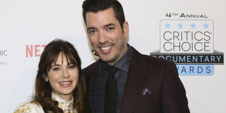 Jonathan Scott spoke with DailyMailTV about Zooey Deschanel