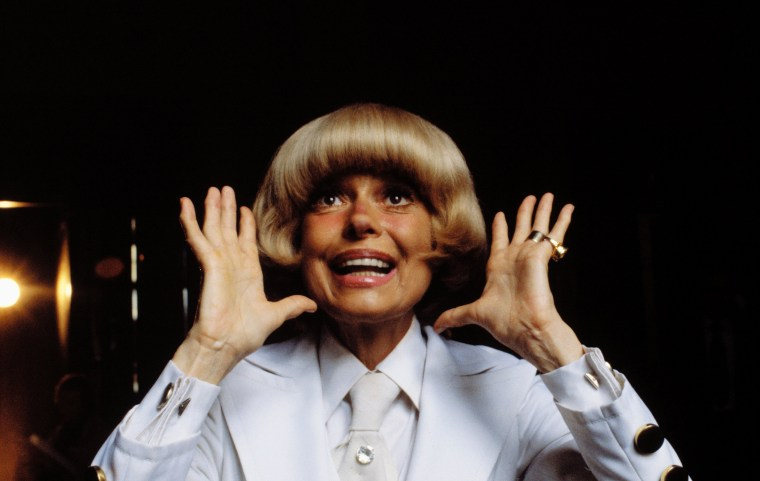 Image: Carol Channing Framing Face with Hands