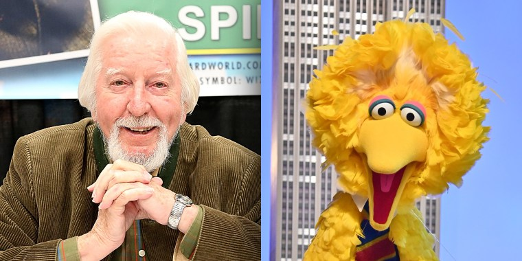 Big Bird actor Caroll Spinney had been in talks with NASA to join the Challenger shuttle flight, which exploded after liftoff in 1986.