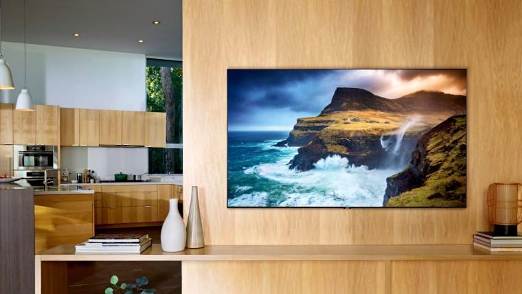 Iamge: A Samsung Q70 QLED television.