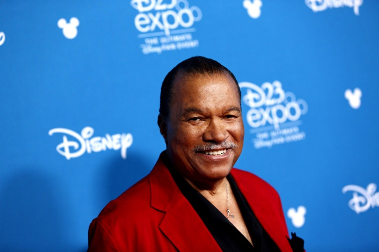 Image: Billy Dee Williams at a event at the Anaheim Convention Center in 2019.