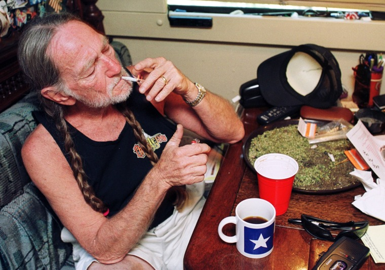 Willie Nelson At Home In Texas
