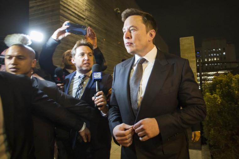 "Image: Defamation Lawsuit Against Tesla CEO Elon Musk Over Calling British Rescue Diver \""'Pedo Guy\"" And Rapist Begins In Los Angeles"