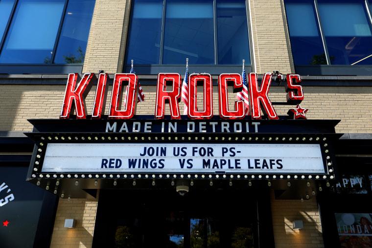 Image: Kid Rock's Made In Detroit restaurant in Michigan.