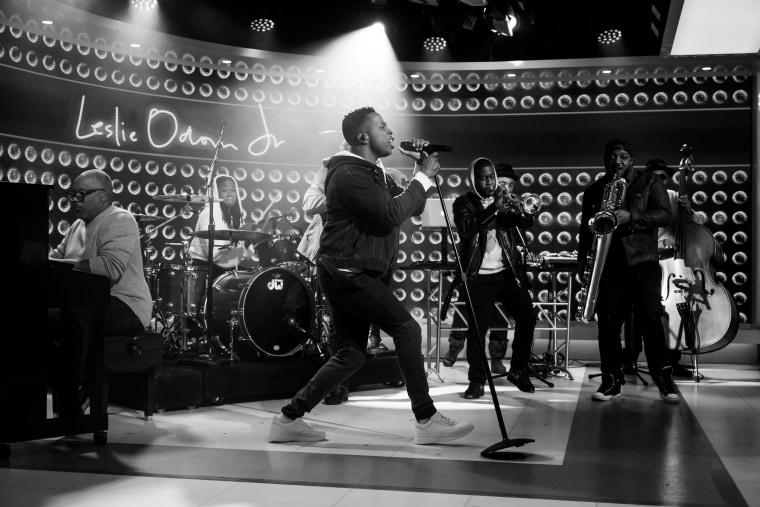 'Hamilton's' Leslie Odom Jr. releases first album of original songs
