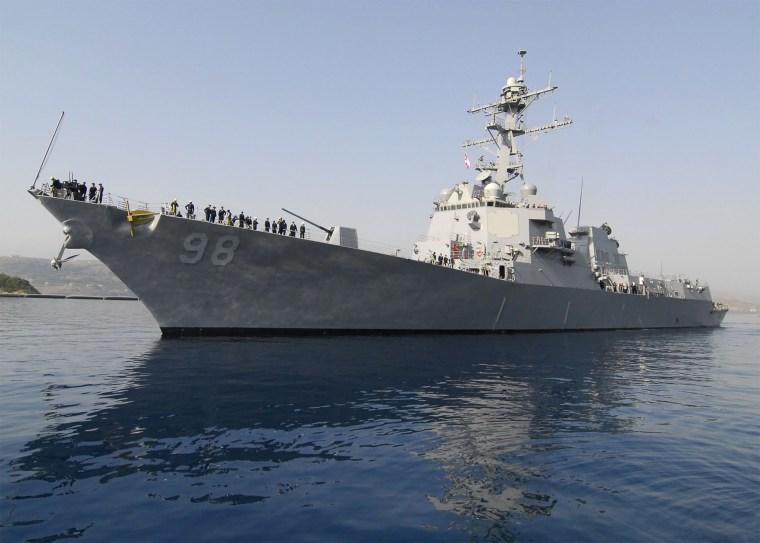 Image; USS Forrest Sherman