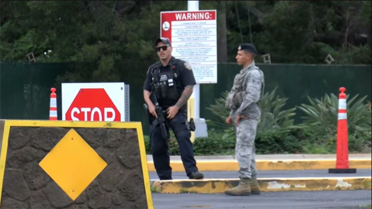 Image: Pearl Harbor Nimitz Gate Security