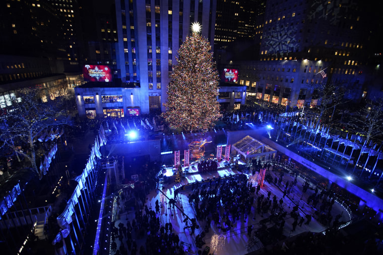 Photos: The Rockefeller Center Christmas tree's journey to the big city