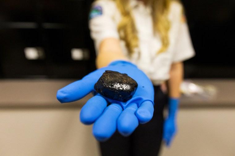 Image: Black tar Heroin