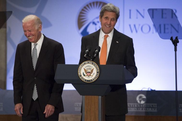 Image: Joe Biden John Kerry