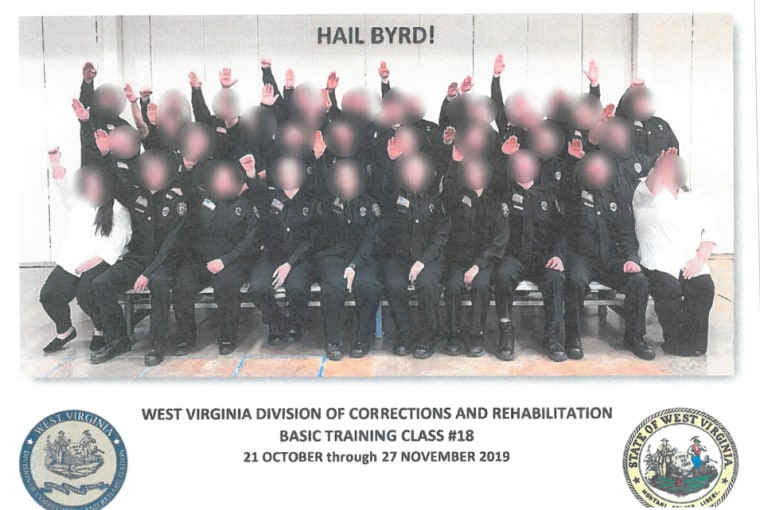 Image result for west virginia nazi salute