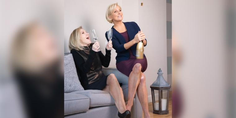 """NBC News health editor Dr. Madelyn Fernstrom, left, and Know Your Value founder and """"Morning Joe"""" co-host Mika Brzezinski, right."""