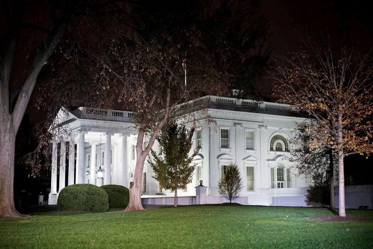 Image: US-POLITICS-WHITE HOUSE-MONUMENT