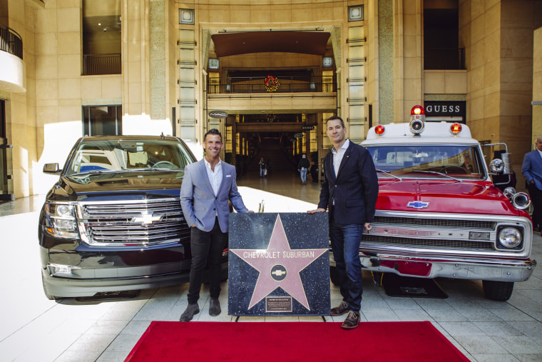 The Chevrolet Suburban became the first vehicle ever awarded an Award of Excellence star at Hollywood & Highland, recognizing Suburban for its 67-year career in Hollywood film and television.