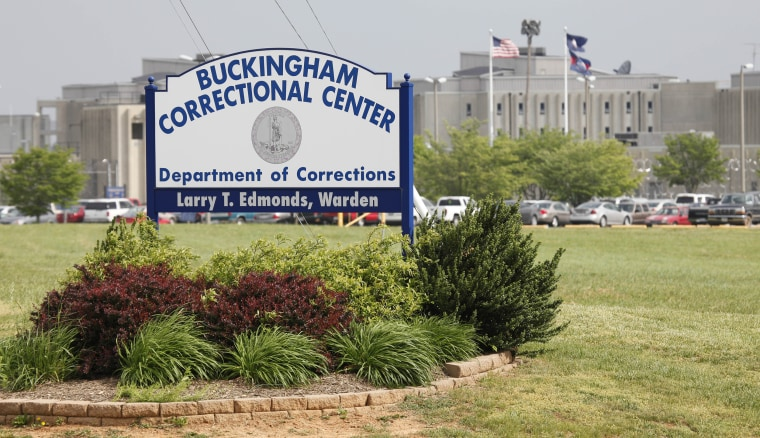 Image; Buckingham Correctional Center in Dillwyn