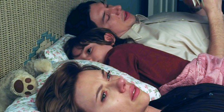 """Marriage Story"" stars Scarlett Johansson, Azhy Robertson and Adam Driver."
