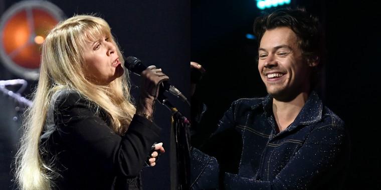 Harry Styles and Stevie Nicks