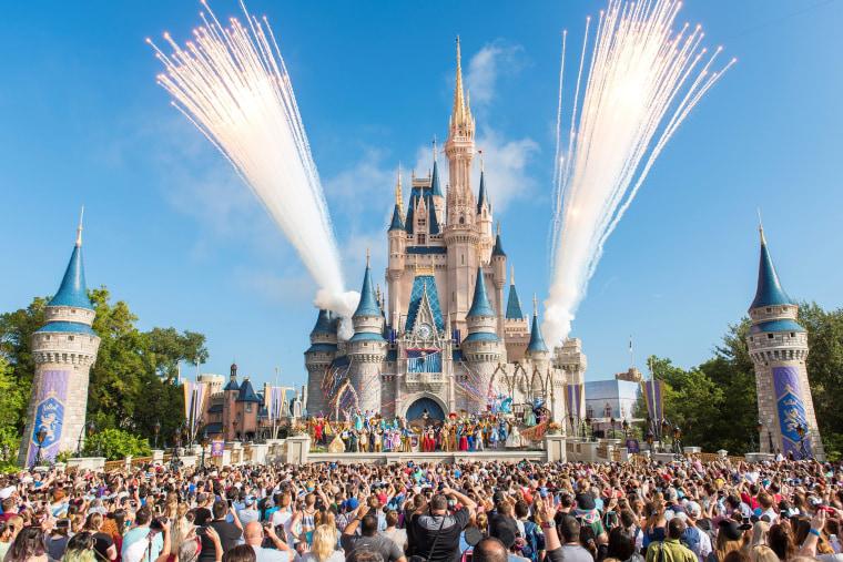 Walt Disney World Resort marked its 45th anniversary in Lake Buena Vista, Florida in Oct. 2016.