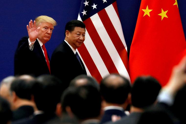 Image:  Donald Trump Xi Jinping