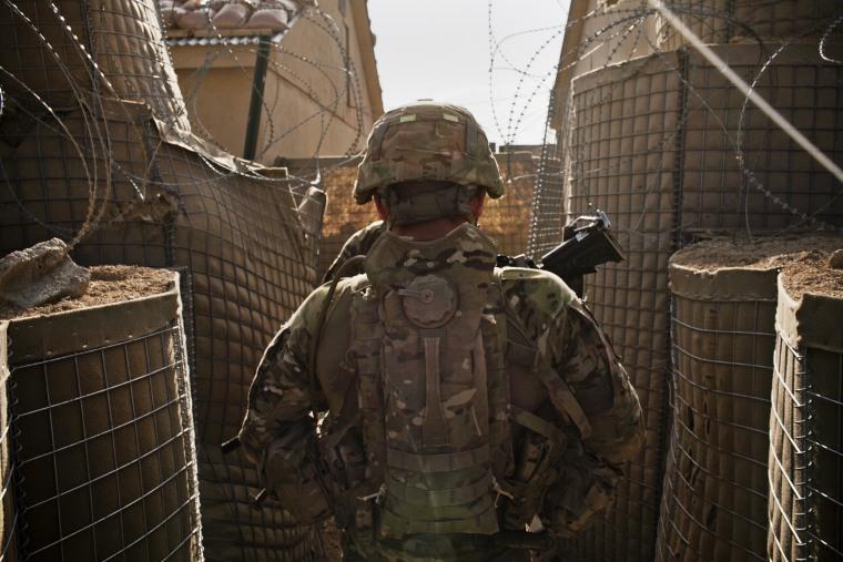 Image: U.S. Combat Outpost Jaghatu in Afghanistan