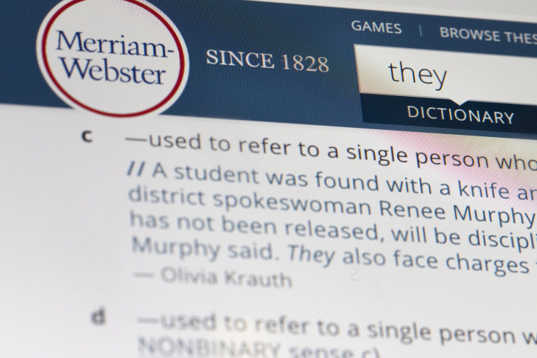 Image: Merriam-Webster They