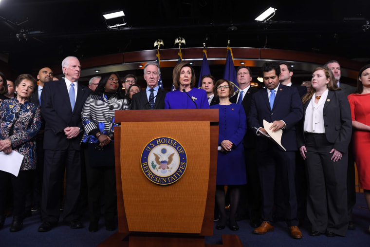 House Democrats praise new trade deal to replace NAFTA amid impeachment