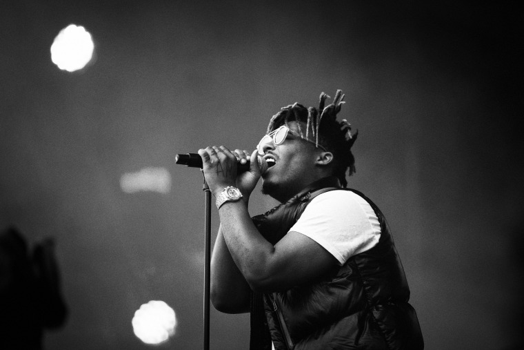 Image: Juice WRLD performs at the Splash! Festival in Germany on July 11, 2019.
