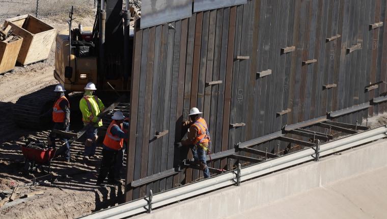 Image: El Paso Texas Border Wall