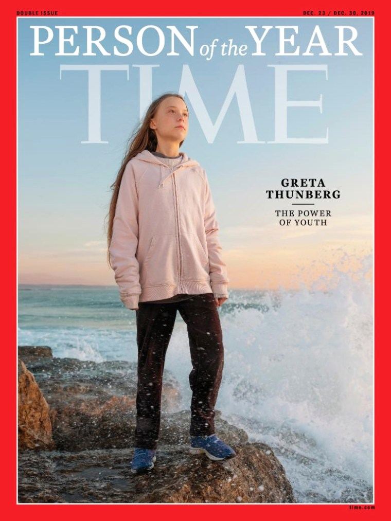 Greta Thunberg is TIME's 2019 Person of the Year.