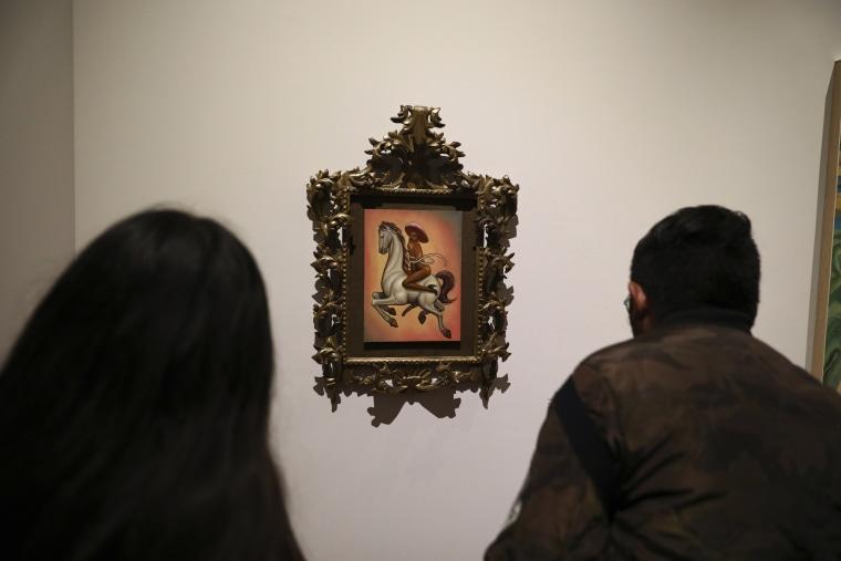 Image: Emiliano Zapata painting
