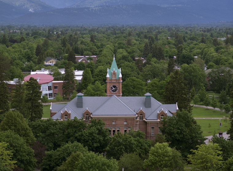University of Montana council urges removal of swastika-like symbol
