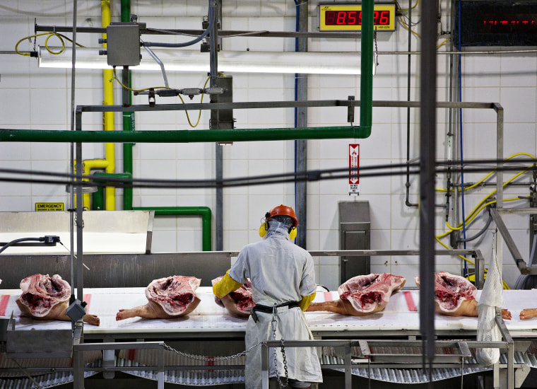Image: Smithfield Foods is one of the five processing plants involved in the pilot program.